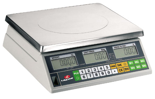 ELECTRONIC SCALE WITH SQUARE B