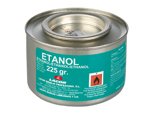 FUEL GEL CAN, ETHANOL